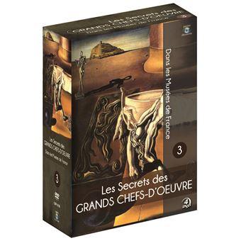 Coffret Les Secrets des grands Chefs-d'œuvre dans les Musées de France Volume 3 DVD
