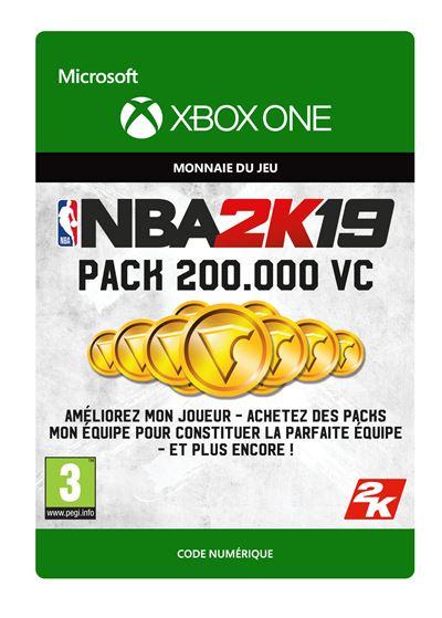 Code de téléchargement NBA 2K19 200000 VC Xbox One