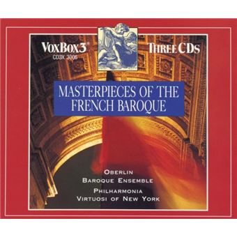 MASTERPIECES OF THE FRENCH BAROQUE/3CD