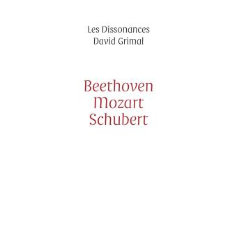 Beethoven Mozart Schubert Coffret