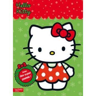 Hello Kitty Jeux Et Coloriages C Est Noel Collectif Broche Achat Livre Fnac