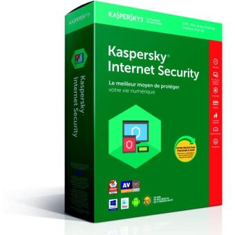 Kaspersky Internet Security 2018 5 Postes 1 An