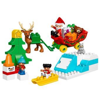 duplo noel LEGO® DUPLO® Ville 10837 Les vacances d'hiver du Père Noël   Lego  duplo noel