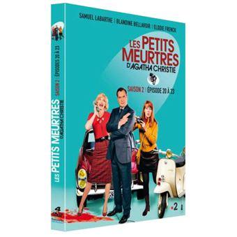 Les petits meurtres d'Agatha ChristieCoffret Les Petits meurtres d'Agatha Christie Saison 2 Episodes 20 à 23 DVD