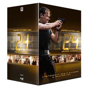 24 heures chrono24 H Chrono Saisons 1 à 9 Coffret DVD