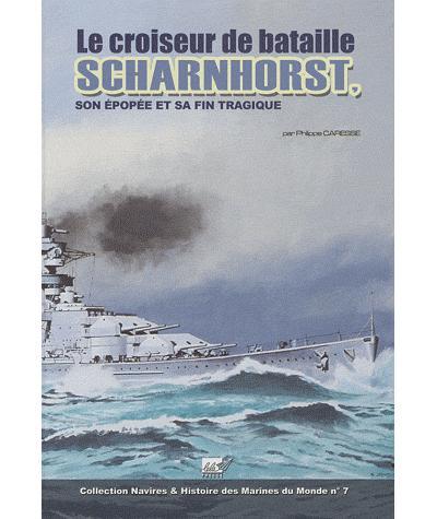 Le croiseur de bataille Scharnhorst