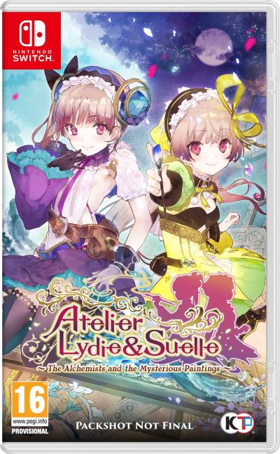 Atelier Lydie and Suelle Alchemists of the Mysterious Painting Nintendo Switch