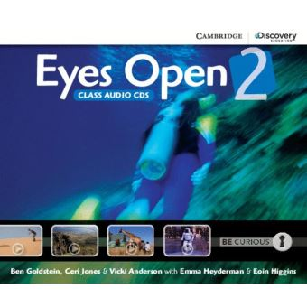 EYES OPEN 2 - CLASS AUDIO CDS