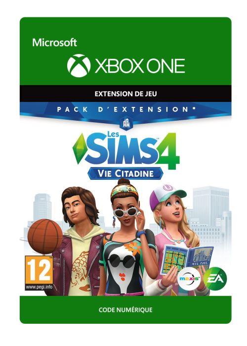 Code de téléchargement Les Sims 4: Vie Citadine Xbox One