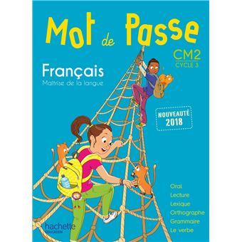 Mot De Passe Francais Cm2 Livre Eleve