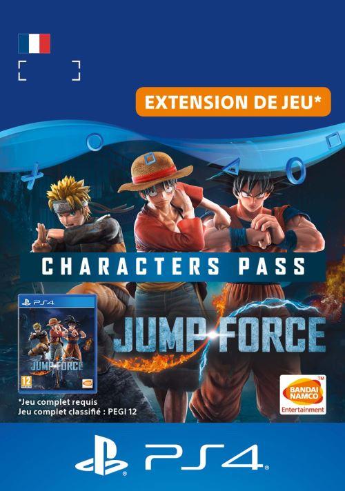 Code de téléchargement Jump Force : Pass Personnages PS4