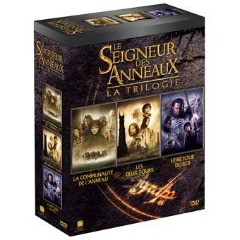 Le Seigneur des anneauxCoffret Le Seigneur des Anneaux 3 films DVD