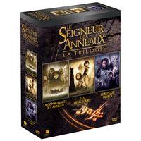 Coffret Le Seigneur des Anneaux 3 films DVD