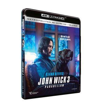 John WickJohn Wick 3 Parabellum Blu-ray 4K Ultra HD