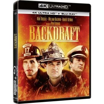 Backdraft Blu-ray 4K Ultra HD