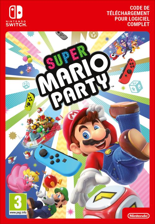 Code de téléchargement Super Mario Party Nintendo Switch
