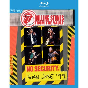 From The Vaults : No Security San Jose 1999 Blu-ray