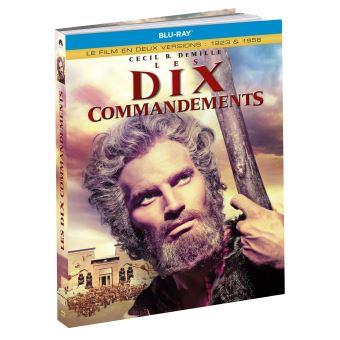 Coffret Les dix commandements 1923 et 1956 Blu-ray