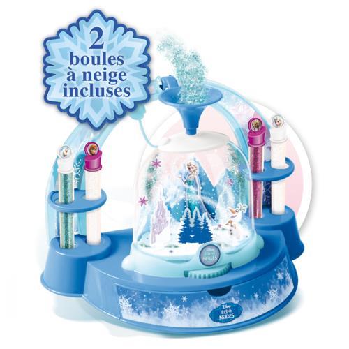 kit créatif mes boules à neige frozen la reine des neiges - kit