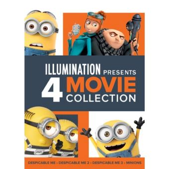DESPICABLE ME 1-3/MINIONS COFFRET-FR-BLURAY