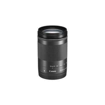 Objectif hybride Canon EF-M 18-150 mm f/3.5-6.3 IS STM Noir