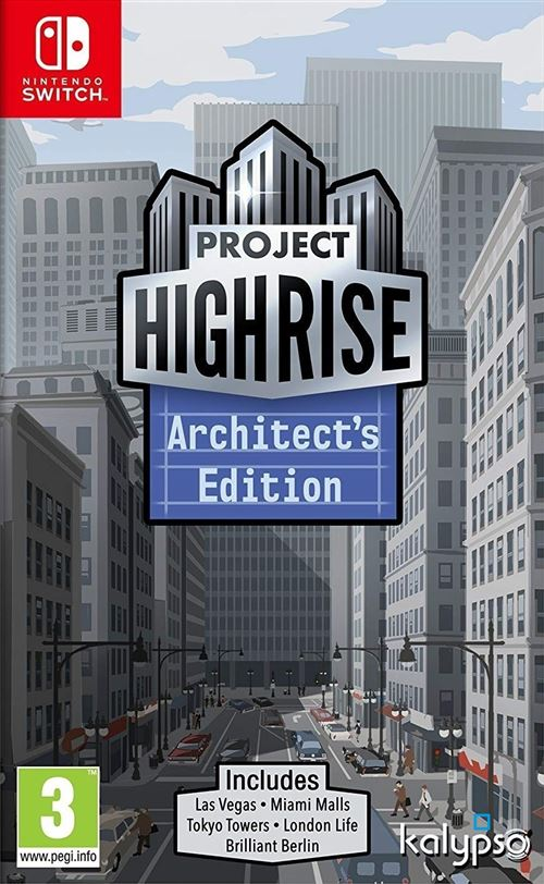 Project Highrise Architect's Edition Nintendo Switch
