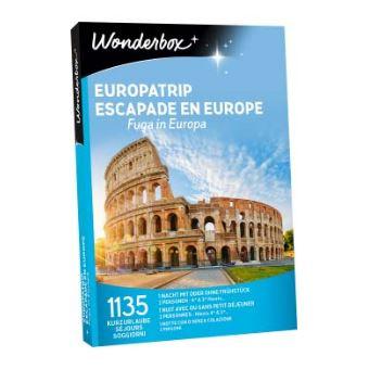 Coffret cadeau Wonderbox Escapade en Europe