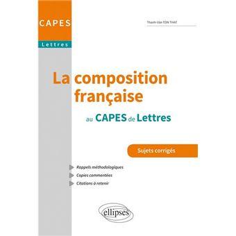 annales sujets dissertation capes lettres modernes