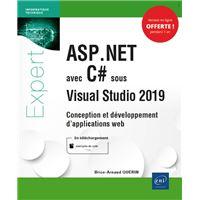 ASP.NET avec C# sous Visual Studio 2019