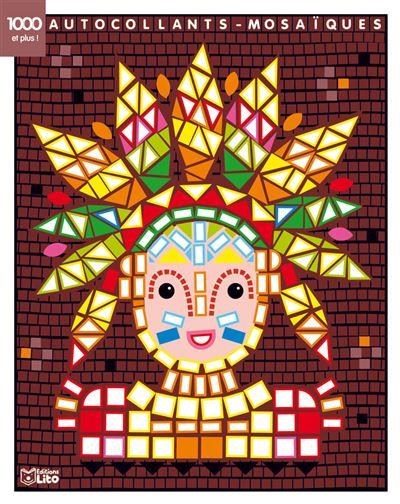 Autocollants-mosaïques L'Indien