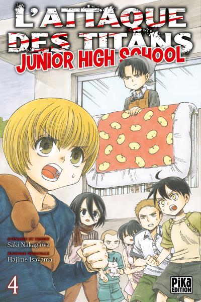 L'Attaque des Titans - Tome 04 : L'Attaque des Titans - Junior High School