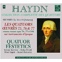 Quatuors à cordes Opus 76 n.1 à 6 - Opus 77 n.1 & 2 - Opus 103