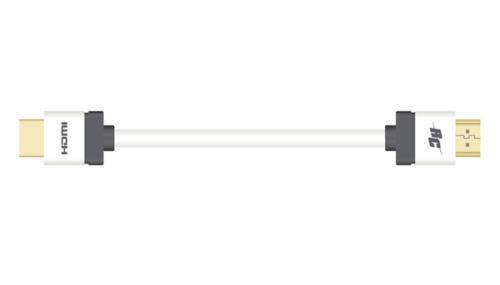 Câble Adaptateur Real Cable HDMI 2 mètres Blanc OrR