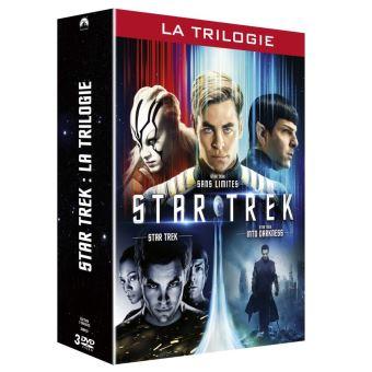 Star TrekCoffret Star Trek L'intégrale 1 à 3 DVD