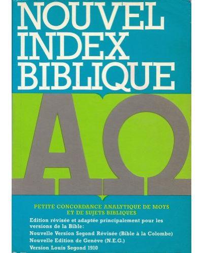 Nouvel index biblique