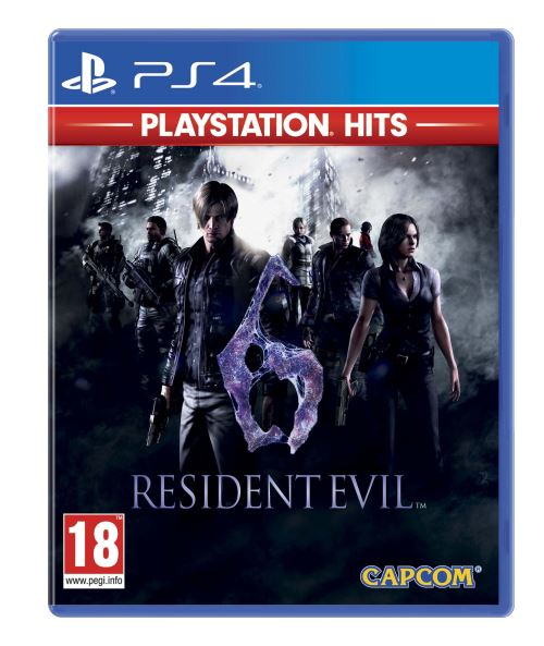 Resident Evil 6 Hits PS4