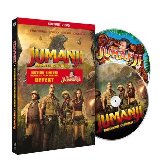 JumanjiJumanji : Bienvenue dans la jungle Edition limitée DVD