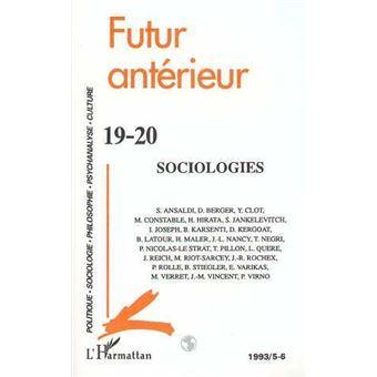 Futur anterieur,19-20:sociologies