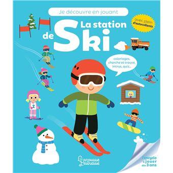 Je découvre en jouant - La station de ski