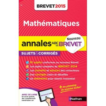 annales brevet 2015 math matiques sujets corrig s n24. Black Bedroom Furniture Sets. Home Design Ideas