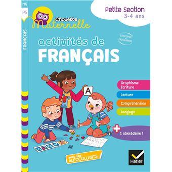 Activites De Francais Maternelle Ps Workbook