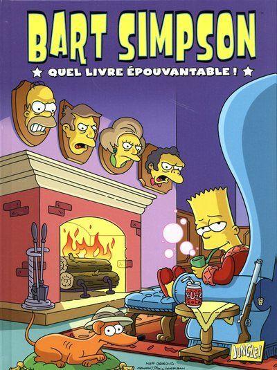 Bart Simpson - tome 4 Quel livre épouvantable !