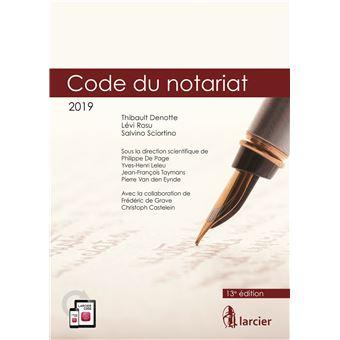 Code annoté - Code du notariat - 2019