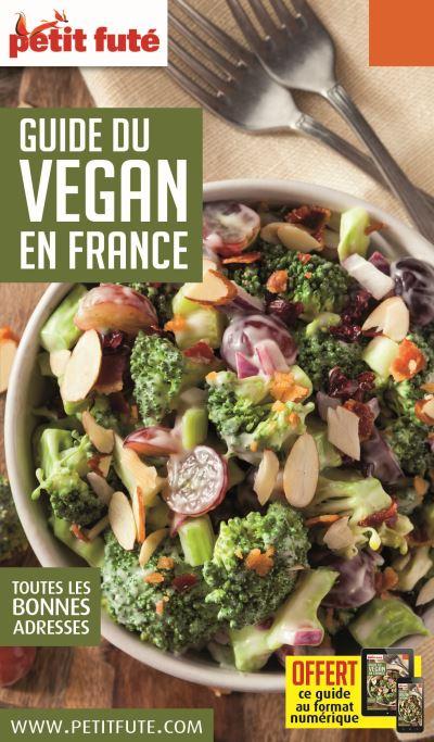 Guide du vegan en france 2017 petit fute + offre num