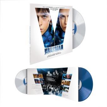 Valérian et la cité des mille planètes Double Vinyle 180 gr blanc et bleu Gatefold