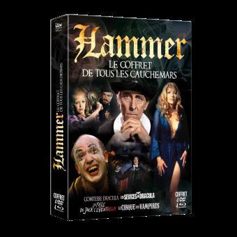 Hammer : Le coffret de tous les cauchemars  Blu-Ray