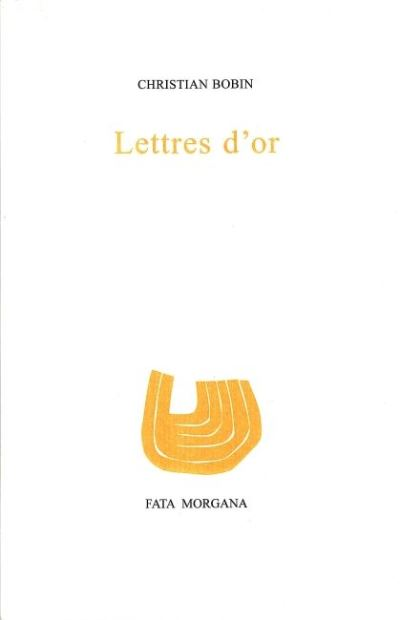 Lettres d'or