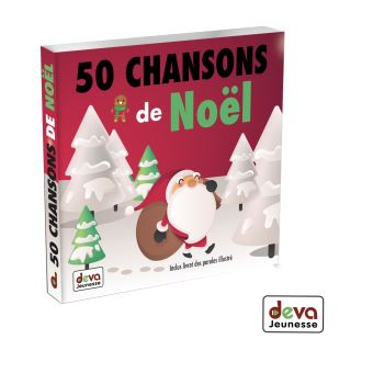 50 chansons de Noël : Inclus livret des paroles illustré