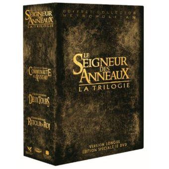 Le Seigneur des anneauxLe Seigneur des Anneaux La trilogie Edition Spéciale Fnac DVD