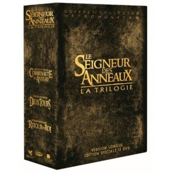 Le Seigneur des anneauxLord Of The Rings, The Trilogy Box (2004) Extended Version